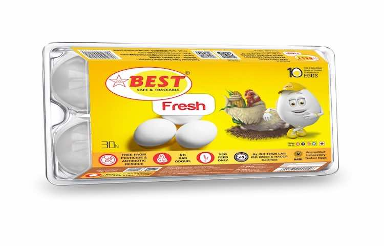SKM Best Fresh Eggs - Pack of 6